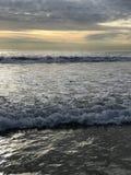 вода взгляда неба океана облака Стоковые Изображения RF