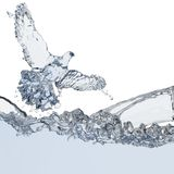 вода вихруна Стоковые Фото