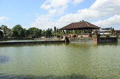 вода дворца mayura mataram lombok Индонесии Стоковая Фотография RF