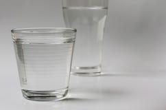 вода выпивая стекла Стоковое Фото