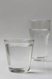 вода выпивая стекла Стоковое Изображение