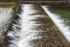 Вода в канале Стоковое Фото