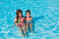 вода детей 2 Стоковое Фото