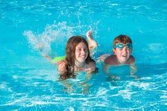 вода детей 2 Стоковые Изображения RF