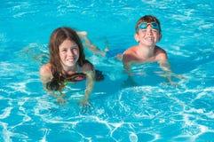 вода детей 2 Стоковые Изображения