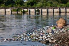 вода загрязнения Стоковое фото RF