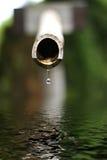 вода замерли падением, котор Стоковые Изображения RF