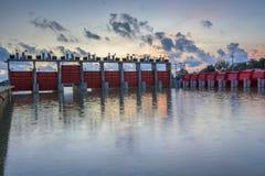 Вода запруды Стоковое фото RF
