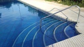 вода зонтиков заплывания бассеина Стоковое Изображение RF