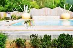 вода зонтиков заплывания бассеина Стоковые Фотографии RF