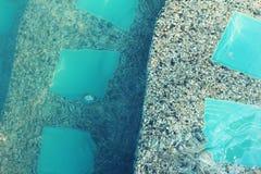вода зонтиков заплывания бассеина Стоковое Изображение