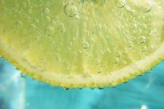 вода лимона сверкная Стоковые Изображения RF