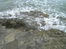 Вода и камень Стоковое Фото