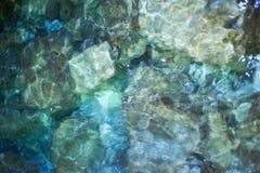 Вода и камни Стоковое Изображение RF
