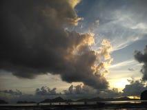 Вода и небо стоковое изображение rf