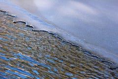 Вода и льдед Стоковое Изображение