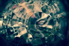 Вода, масло и свет Стоковые Фото