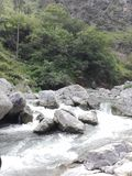 Вода находит свой путь Стоковая Фотография RF