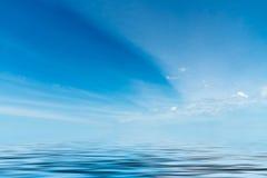 вода неба отражения элемента конструкции предпосылки Стоковые Фотографии RF