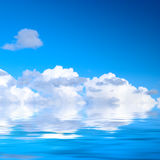вода неба Стоковое Изображение