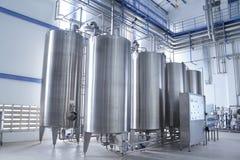 вода обработки оборудования Стоковая Фотография RF