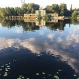 Вода дома реки Стоковое Изображение RF