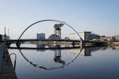 Вода, отражения и мосты Стоковые Фото