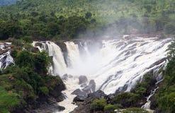 Вода падает (Shivannasamudra) Стоковые Изображения RF