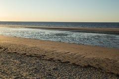 Вода песка воды песка Стоковые Изображения