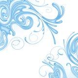 вода предпосылки Стоковое Изображение