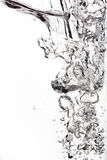 вода пузырей ванны предпосылки голубая стоковое изображение rf