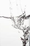 вода пузырей ванны предпосылки голубая стоковая фотография