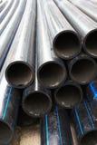вода резины труб из черного металла Стоковое Фото