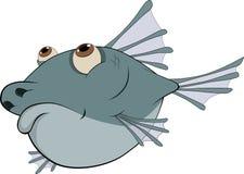 вода рыб шаржа глубокая Стоковая Фотография