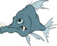 вода рыб шаржа глубокая Стоковое Изображение