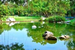 Вода сада Стоковое Фото