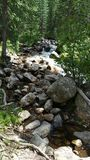 Вода скалистой горы Стоковые Изображения RF