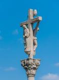 вода скита s человека фонтана перекрестных течений апертур священнейшая каменная Стоковое Изображение RF