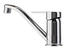 Вода смесителя холодная горячая Современная ванная комната faucet Кран кухни I Стоковая Фотография RF