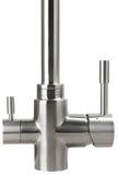 Вода смесителя холодная горячая Современная ванная комната faucet Кран кухни I Стоковые Изображения RF