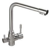 Вода смесителя холодная горячая Современная ванная комната faucet Кран кухни I Стоковая Фотография