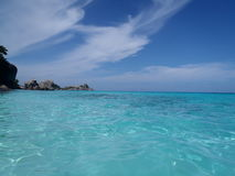 Вода, солнце и вещество Стоковое фото RF