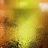 вода стекла капек бутылки Стоковое Изображение