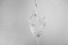 вода стекла Стоковые Изображения
