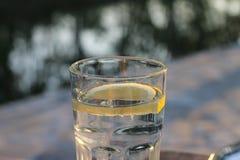 Вода с лимоном Стоковые Изображения RF