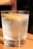 Вода с лимоном Стоковая Фотография