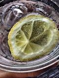 Вода с лимоном Стоковые Фото