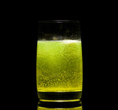 вода таблетки аспирина стеклянная Стоковое Изображение RF