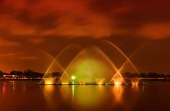 вода фонтанов Стоковые Фото