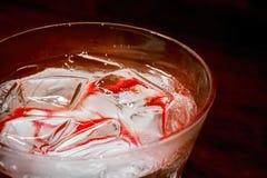 вода льда холодного стекла Стоковое Изображение RF